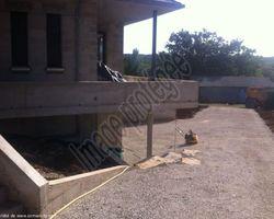 Sirmain Tp - Rignac - Réalisation d'un chemin d'accès garage