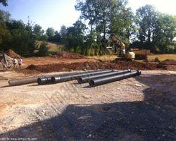Sirmain Tp - Rignac - Décapage - Terrassement pour création d'un bâtiment et d'un parking