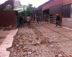 Sirmain Tp - Rignac - Aménagement de bâtiment agricole - Création d'un dallage