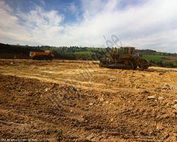 Sirmain Tp - Rignac - Terrassement d'une plate forme pour la création d'un bâtiment agricole