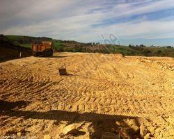 Sirmain Tp - Rignac - Terrassement de plateforme pour bâtiment agricole