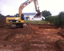 Sirmain Tp - Rignac - Terrassement pour Construction d'une maison individuelle