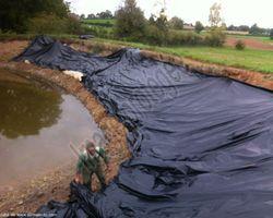 Sirmain Tp - Rignac - Renforcement d'une digue de plan d'eau