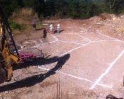 Sirmain Tp - Rignac - Implantation des fouilles maison individuelle