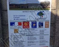 Sirmain Tp - Rignac - Construction d'une salle de sports de raquettes - CAPDENAC