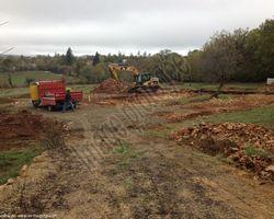 Sirmain Tp - Rignac - Terrassement et Réalisation des fondations - Construction d'une maison individuelle - MONTSALES